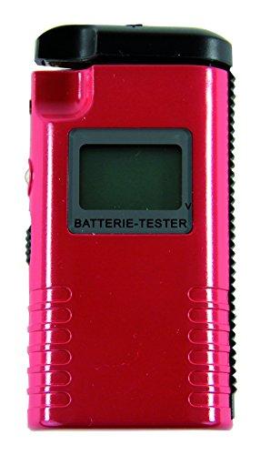 REV Ritter 0037329012 LCD-Batterie-Tester, rt, 1.5 V, Rot
