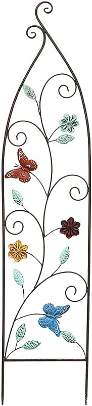 Iron Garden Trellis for service Climbing and Miami Mall Vines Butterfly Plants Met
