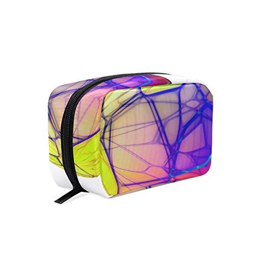 LORONA geïsoleerde transparante bol cosmetische zak koppeling make-up tas reisorganisator case toilettas voor vrouwen