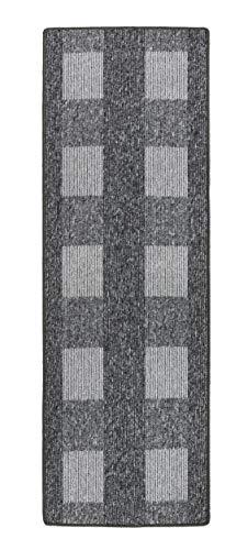 andiamo, Teppich Flachgewebe Dalia strapazierfähig, schadstoffgeprüft 67 x 200 cm grau