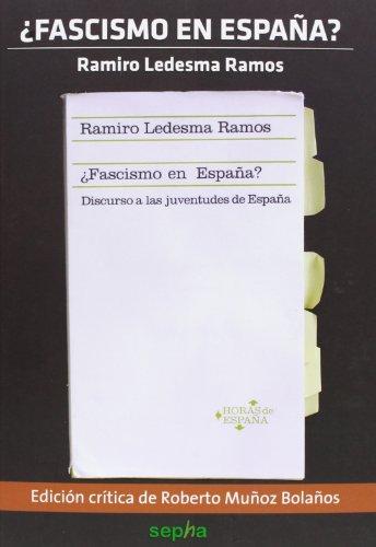 ¿Fascismo en España? (Flores Del Mal)