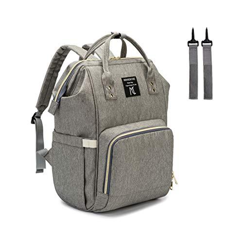 HNANT A013 Windeltasche Rucksack, Multifunktions-Rucksack für Damen und Papa und diese Wickeltasche ist auch als Baby-Wickeltasche für Mädchen oder Jungen verwendbar