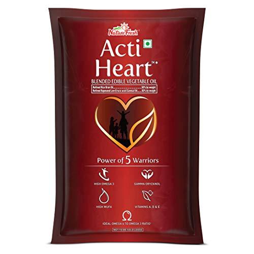Nature Fresh Acti Heart Edible Oil Pouch, 1L