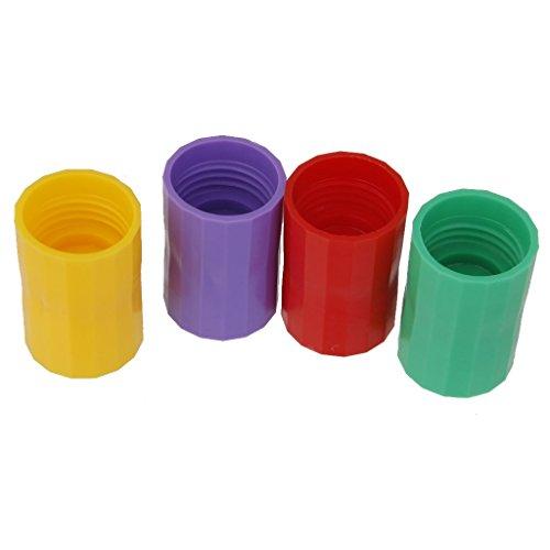 Backbayia 4 Stück Tornado Adapter Flaschentornado Aufsatz Pädagogisches Spielzeug Lernspielzeug für Kinder