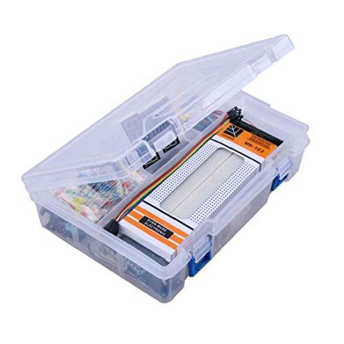 NaisiCore Kit de Inicio para Arduino proyectos, Incluyendo Cortar el Pan Holder, LCD 1602, Juguete servo, Sensores y detallados tutoriales MA05 Simulación