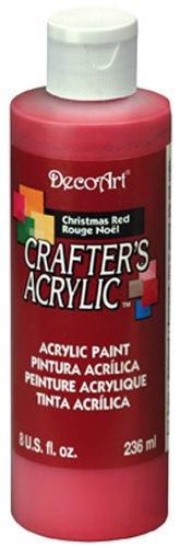 Niveau DecoArt Peinture Acrylique, Noël Rouge