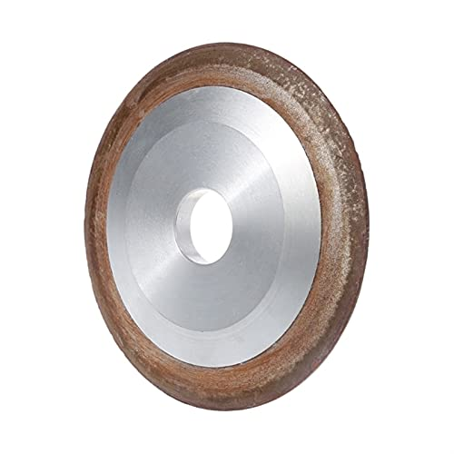 ZHOUCHENPQ Outils Coupe de meule de meulage de Diamants de 100 mm 180 Moulin de Coupe de Grain pour carbure D4H9 (Grit : 180, Outer Diameter : 100mm)