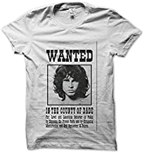 Jim Morrison On8 Soft Tops de Mujer/Women's Short Sleeve Manga Corta T Shirts Camiseta