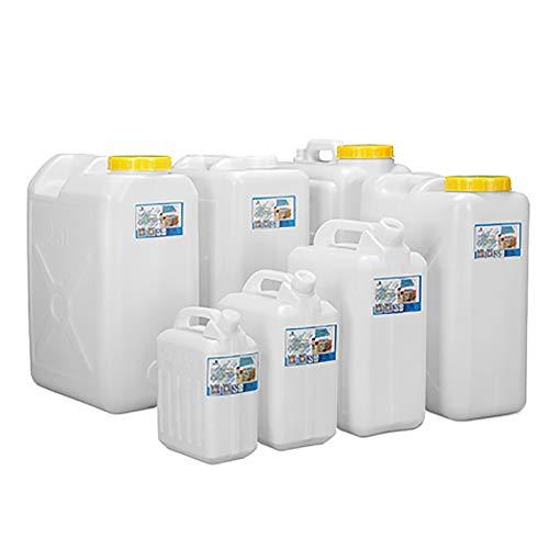garrafas de plastico Cubo de plástico de calidad alimentaria con contenedores cisterna tapa de plástico tanque de agua en los hogares de contenedores de almacenamiento de agua portátil for automóvil