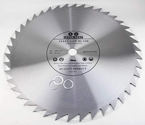 Hoja de sierra circular (500 mm, para madera, 500 x 32-20 mm, 42 dientes)