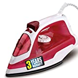 iBELL 1250 Watts Steam Iron Box with Adjustable...