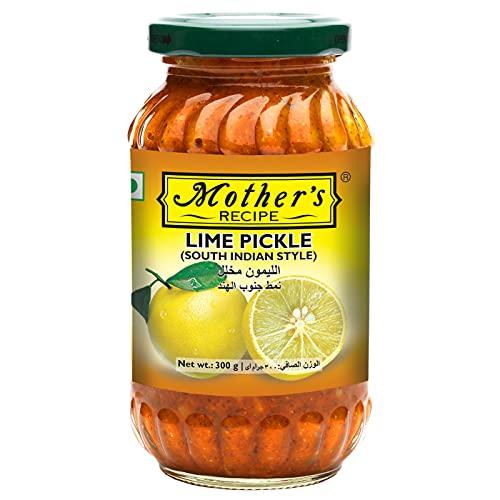 ライムピクルス Mother's RECIPE 300g 6本 LIME PICKLE SOUTH INDIAN STYLE ライム ピクルス 漬物 業務用