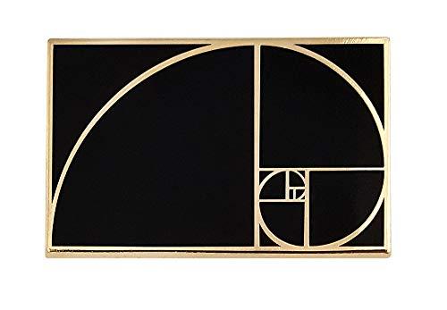 Pinsanity Golden Ratio Enamel Lapel Pin