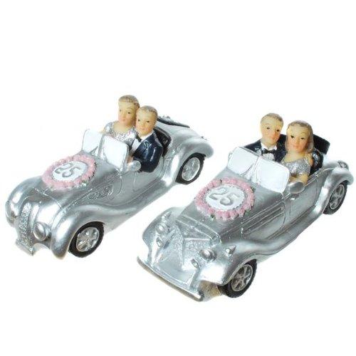 Udo Schmidt Silber-Brautpaar im Auto