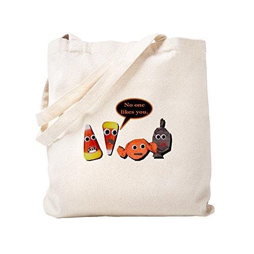 CafePress - Halloween Candy – Sac fourre-tout en toile naturelle, sac de courses en tissu.