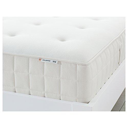 HYLLESTAD Taschenfederkernmatratze 160x200 cm mittelfest/weiß