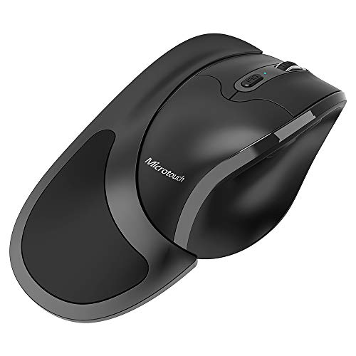 Newtral Wireless Left Handed Semi-Vertical Ergonomic Mouse, Left...