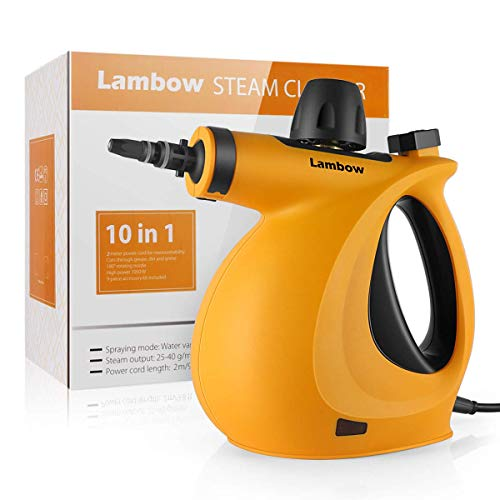 Handheld Pressurized Steam Cleaner with...
