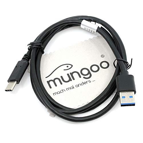 Datenkabel passend für Blackview BV9000 / BV9000 Pro / BV8000 / BV8000 Pro USB-Kabel Ladekabel Daten Kabel mit mungoo Displayputztuch
