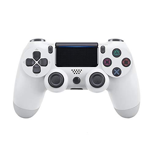 Controlador de juegos Ps4blanco, controlador inalámbrico de joystick para gamepad para PlayStation 4