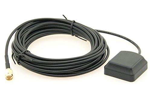 Alda PQ antenne met magneetvoet voor GPS met SMA/M-stekker en 3 m kabel