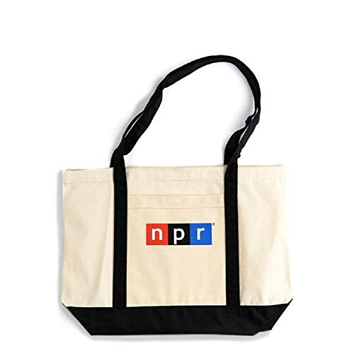 Official NPR Classic Logo Tote Bag