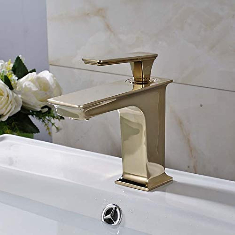 Ayhuir Bad Waschbecken Mischbatterie Wasserhahn Einhebelmischer Wasserhahn Quadratisch Waschbecken Waschbecken Wasserhhne