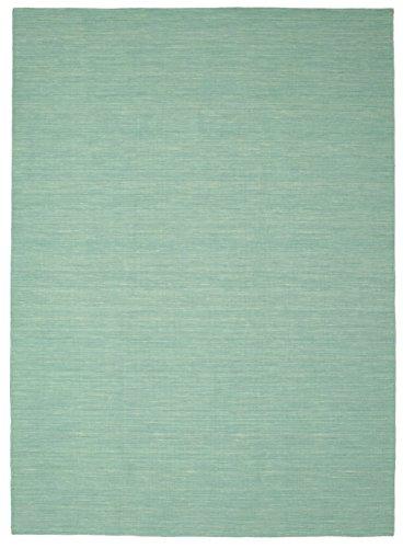 RugVista Kelim Loom - Mint grün Teppich 250x350 Moderner Teppich