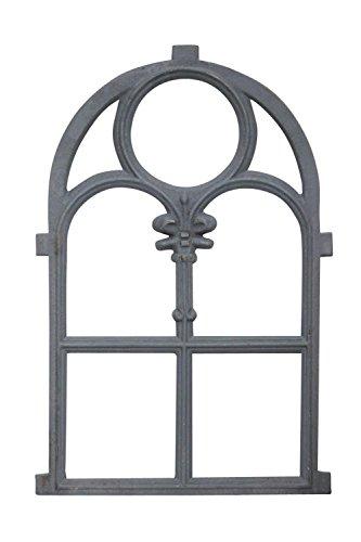 Stallfenster Fenster Scheunenfenster Eisen grau 74cm Antik-Stil Eisenfenster