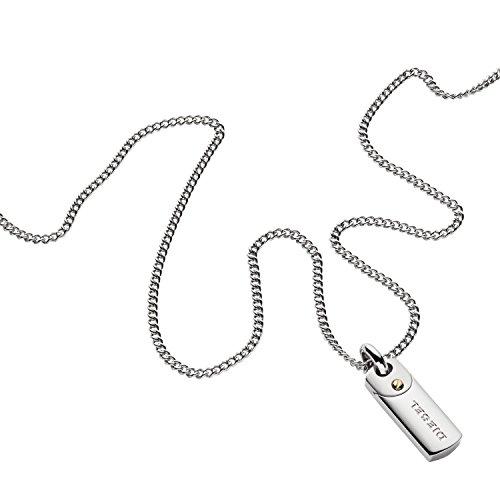 Diesel Collar cadena de hombre con acero inoxidable