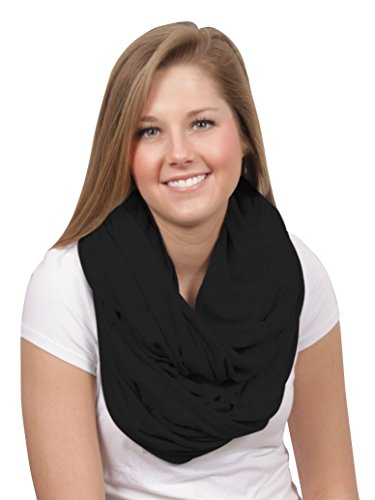 For Sale! Luxi Nursing Infinity Scarf - Uptown Black