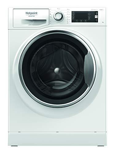 Hotpoint NLCD 945 WC A EU N, Lavatrice a Carica Frontale a Libera Installazione, B, 9kg, 1400 GIRI/MIN