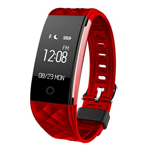 MUXAN Fitness Tracker, Fitness Tracker for Women Men ,Waterproof Activity Tracker Watch with Step Counter, Calorie Counter, Pedometer Watch for Women and Men S2