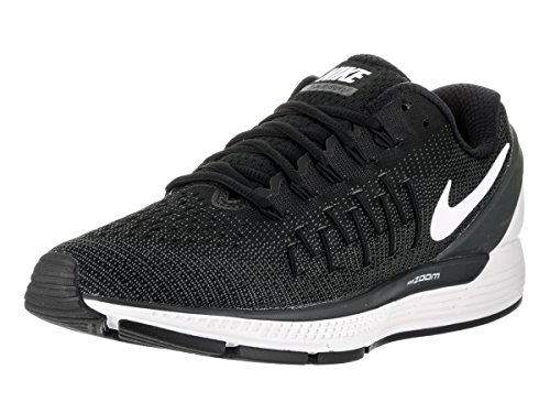 Nike Herren air Zoom Odyssey 2 Laufschuhe, Black (Schwarz (schwarz/weiß-anthrazit-Gipfel), 40 EU