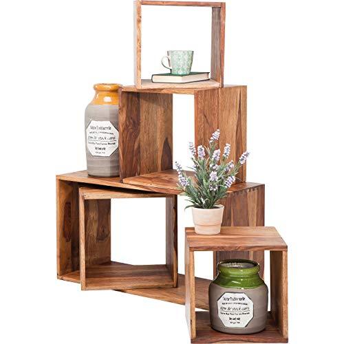 Kare Design - 78571 Authentico scaffali cubici (5/set)