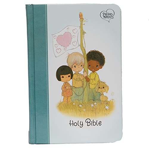 Compare Textbook Prices for NKJV, Precious Moments Small Hands Bible, Hardcover, Teal, Comfort Print: Holy Bible, New King James Version Illustrated Edition ISBN 9780785238645 by Thomas Nelson