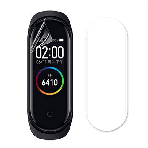 Kit 3x Películas Gel Full Cover Flexíveis para Novo Smartwatch Xiaomi Mi Band 4 - FIT.IT