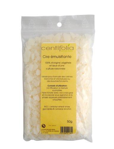 Centifolia - Ingrédients pour Cosmétique Maison - 100% Naturel - Cire Emulsifiante - Lot de 2
