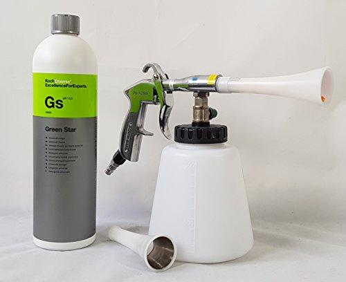 Preisvergleich Produktbild Clean 2 Blow Gun Set: Reinigungspistole Koch Chemie 1 L Green Star 1L.