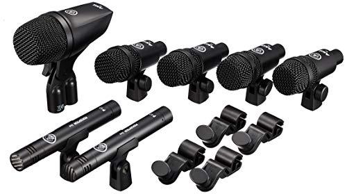AKG DSS1 - Kit de micrófonos para batería, Color Negro