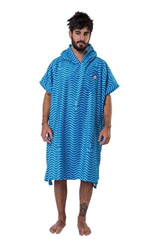 After essentials s16-wa-ma Poncho Handtuch Marineblau Einheitsgröße