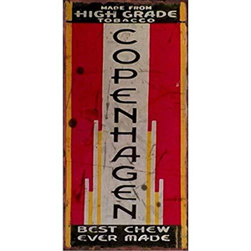 NNGT Tobacco Style for Wall Decor Retro Red Art Print Wall Decor Pub Bar Creative Design Poster Metal TIN Sign 20X30 CM