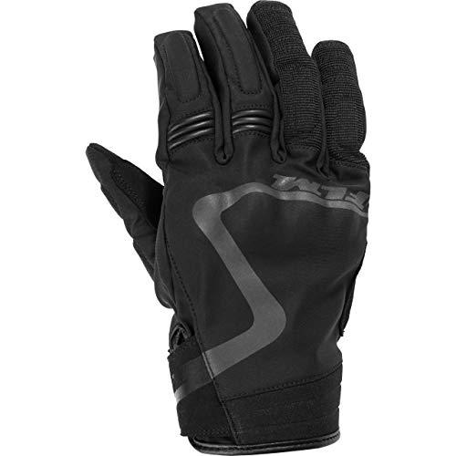 FLM Motorradhandschuhe kurz Motorrad Handschuh Textilhandschuh 2.0 schwarz 8,5, Herren, Sportler, Sommer
