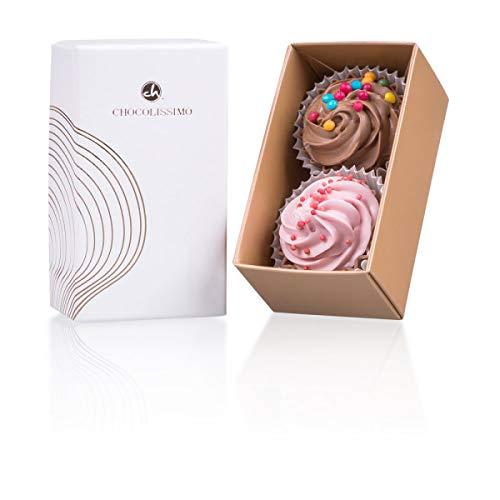 2 Cupcake Pralinen - Besondere Pralinen | Give Away | Mitbringsel | Weihnachtsfeier Ideen | Weihnachten | Mitarbeiter Geschenk | Süßigkeiten | Geschenkidee | Gastgeschenk | Hochzeit | Geburtstag