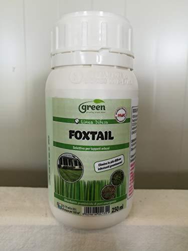 Green Ravenna Foxtail - Desherbo graminicida para césped de post emergencias para hoja estrecha, 250 ml