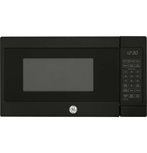 GE Appliances JES1072DMBB GE 0.7 Cu. Ft. Capacity Countertop Microwave Oven, Black