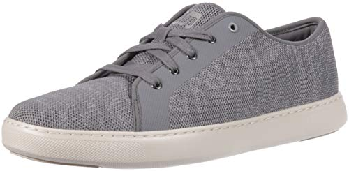 FitFlop Men's Christoph Knit Sneakers, Charcoal, 10 M US