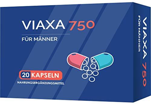 VIAXA V2 für den Mann | HOCHDOSIERT | Extra für Männer | 20 Kapseln