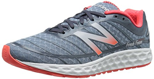 New Balance Men's M980V2 Fresh Foam Boracay-M, White/Blue, 11 D US