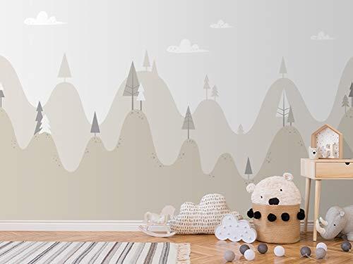Oedim Fotomural Infantil Vinilo para Pared Paisaje Bosque | Mural | Fotomural Infantil Vinilo Decorativo | 400 x 300 cm | Decoración comedores, Salones, Habitaciones